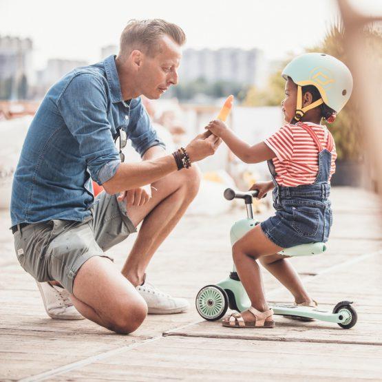 Детска тротинетка Scoot & Ride Highwaykick 1 2 в 1, Kiwi