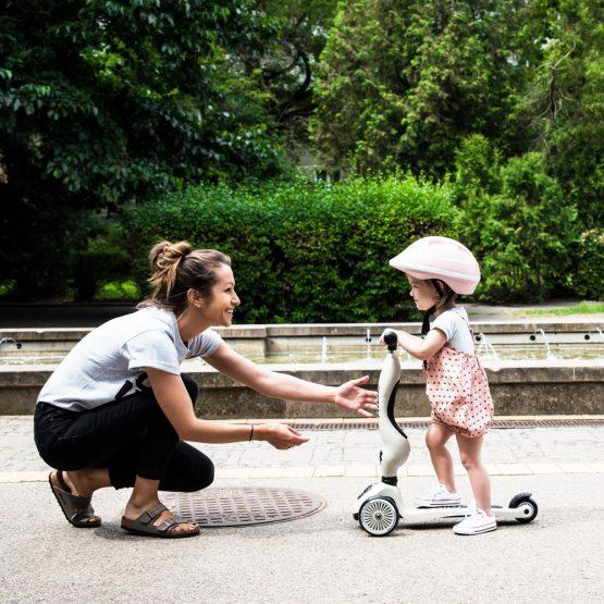 Детска тротинетка Scoot & Ride Highwaykick 1 2 в 1, Ash