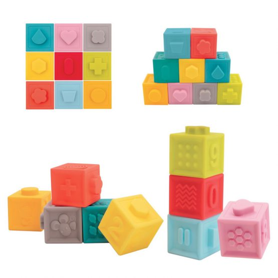 Релефни кубчета LUDI