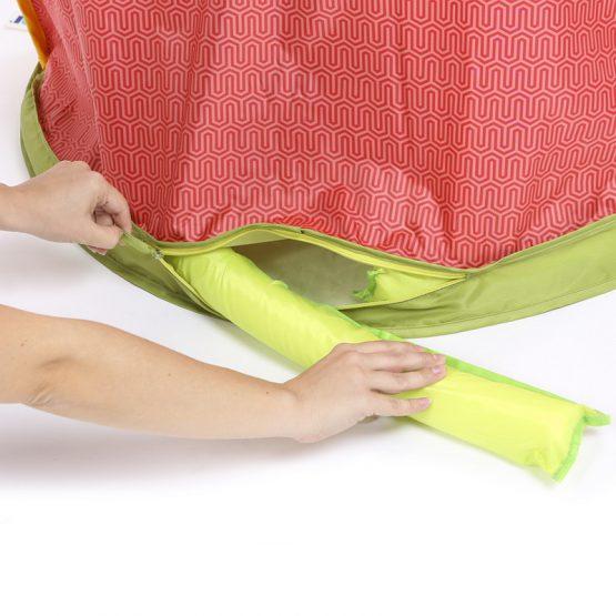 Непромокаемо килимче LUDI с тента