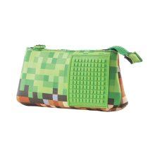 Несесер за моливи Pixie Crew PXA02, Mine&Craft/зелен