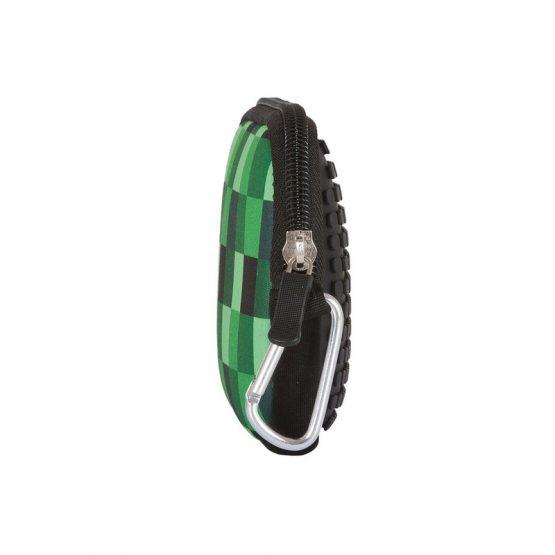 Несесер Pixie Crew PXA08, зелено каре/черен