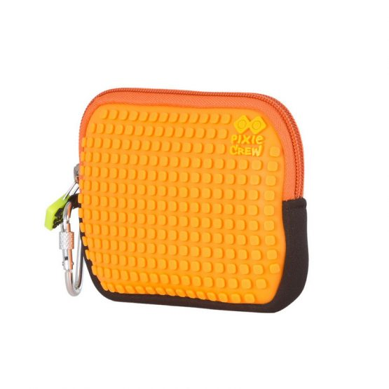 Несесер Pixie Crew PXA08, цветен пъзел/оранжев