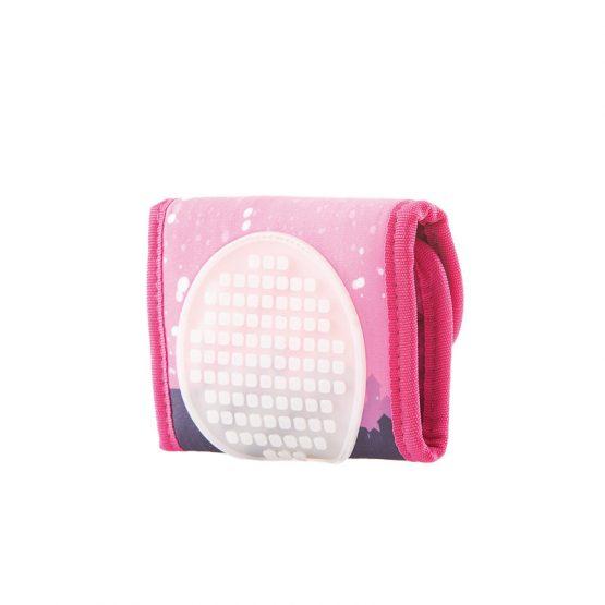 Портмоне Pixie Crew PXA10, NIXX, розово/светещ панел