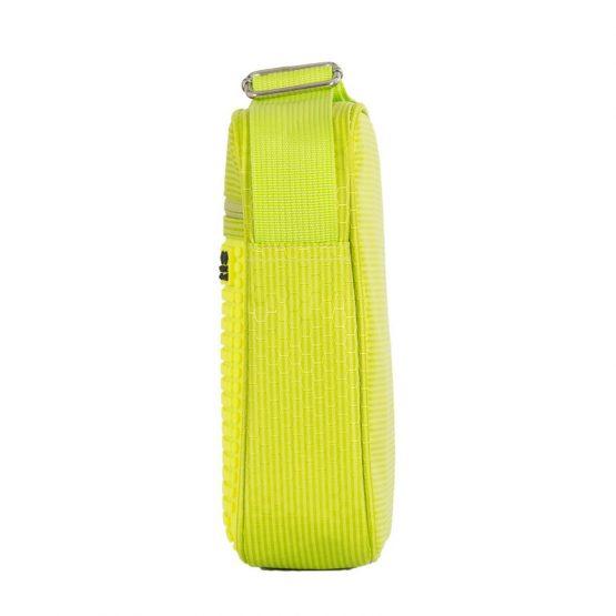 Чанта за рамо PXB-11, зелена/ неоново жълта
