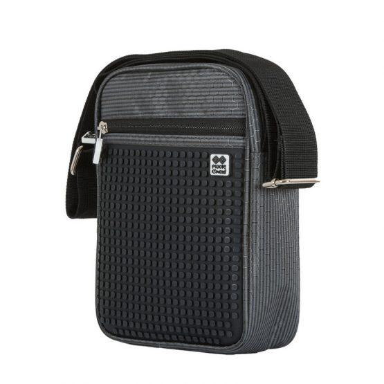 Чанта за рамо PXB-11, сиво/ черна