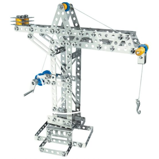 Конструктор Eitech Кран|Вятърна мелница, 3 модела