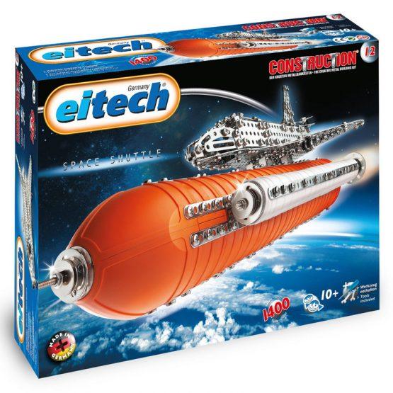 Конструктор Eitech Космическа совалка DELUX, 3 модела