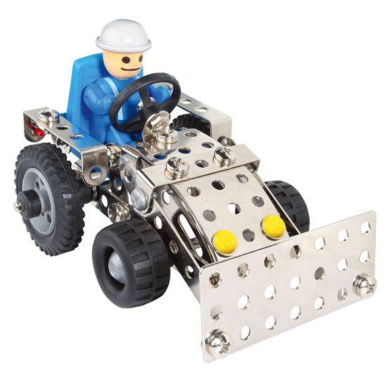 Конструктор Eitech Трактор с ремарке, 3 модела