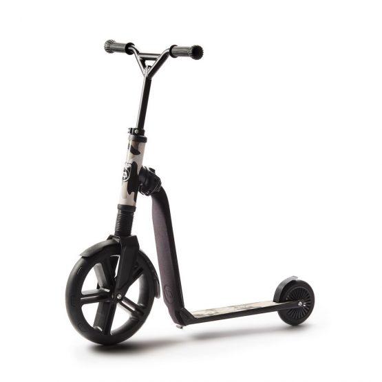 Детска тротинетка Scoot & Ride Highwaygangster, 2 в 1: скутер и колело за баланс, камуфлаж