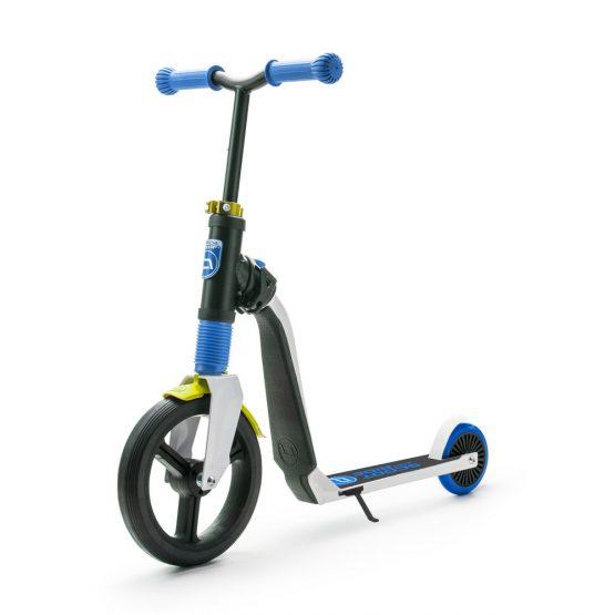 Детска тротинетка Scoot & Ride Highwayfreak, 2 в 1: скутер и колело за баланс, синьо/черно