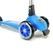 Детска тротинетка Scoot & Ride Highwaykick 3, сгъваема, Синя
