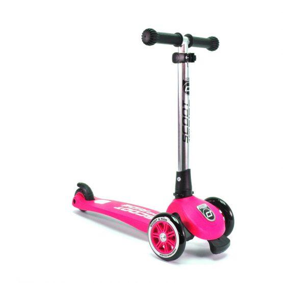Детска тротинетка Scoot & Ride Highwaykick 3, сгъваема, Розова