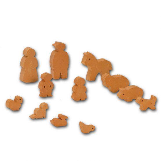 Комплект фигурки на хора и животни Teifoc