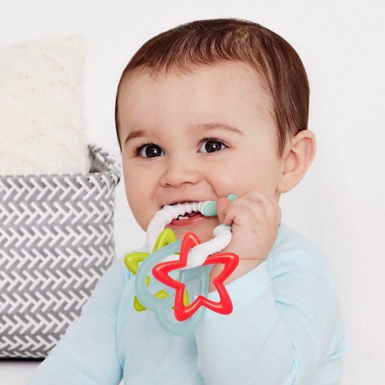 Бебешка дрънкалка Skip Hop - облаче и звезди