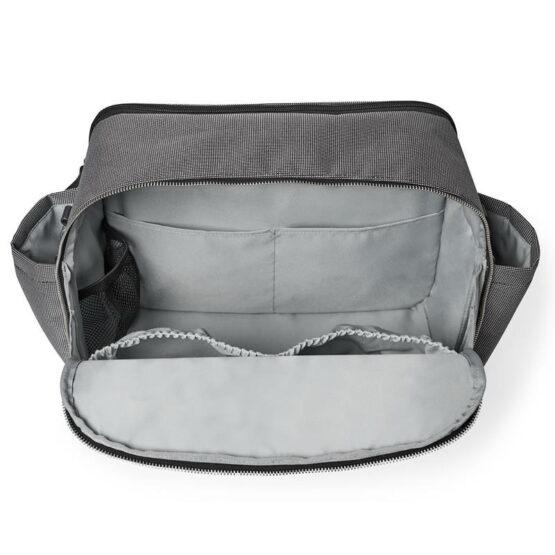 Чанта за разходка Skip Hop Madison Square 200901 сива