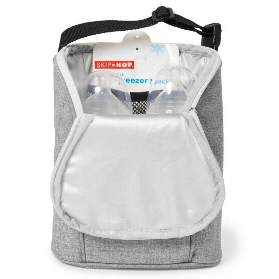 Чанта за две бутилки Skip Hop 205315 сива