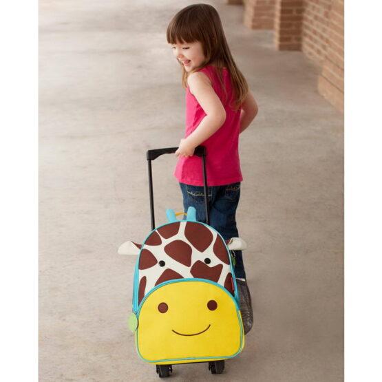 Чанта на колела Skip Hom жираф 212311