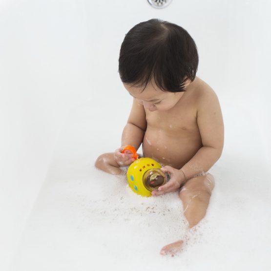 играчка за вода Skip Hop подводница с маймунка