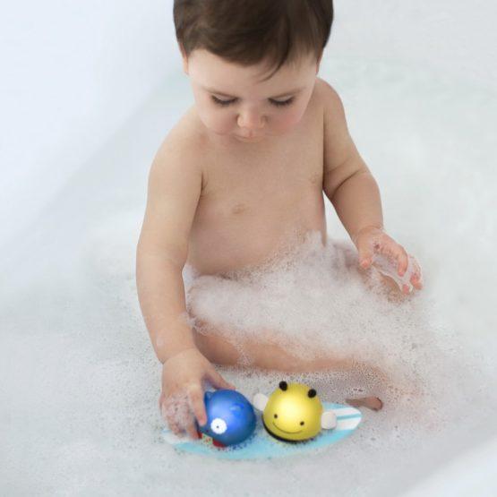 играчка за вода Skip hop бухалче и пчеличка на сърф