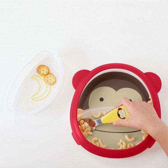 Комплект чинийки Skip Hop Zoo, маймунка
