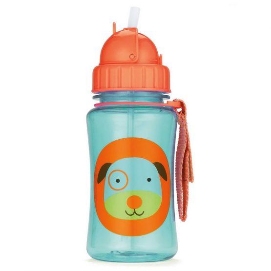 Детска бутилка Skip Hop Zoo, кученце