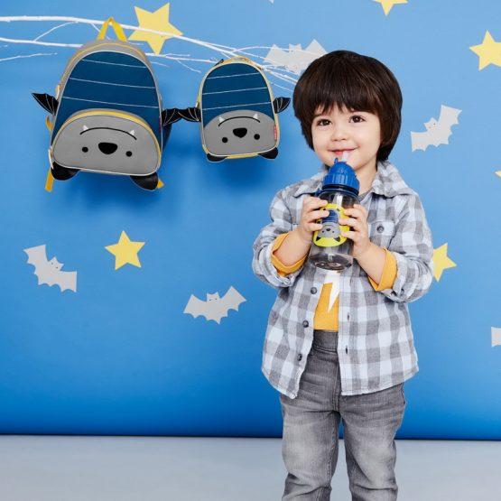 Детска бутилка Skip Hop Zoo, прилепче