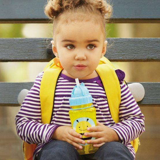 Детска бутилка Skip Hop Zoo, пчеличка