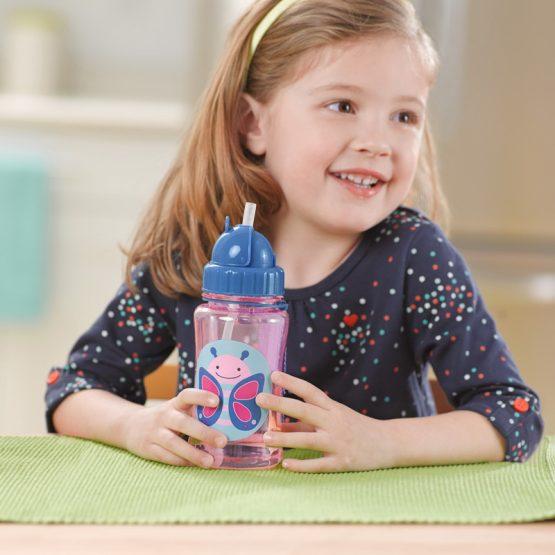 Детска бутилка Skip Hop Zoo, пеперудка