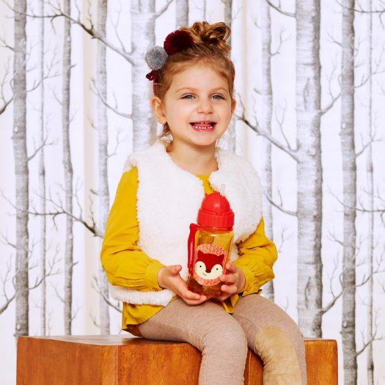 Детска бутилка Skip Hop Zoo, лисица