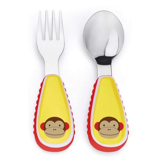 Комплект прибори Skip Hop, маймунка