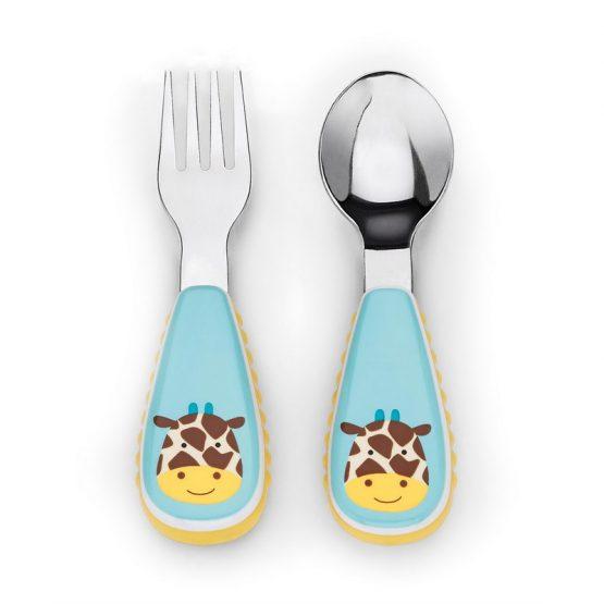 Комплект прибори Skip Hop, жираф