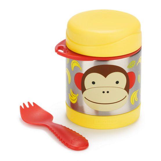 Контейнер/Термос за храна Skip Hop от неръждаема стомана, маймунка