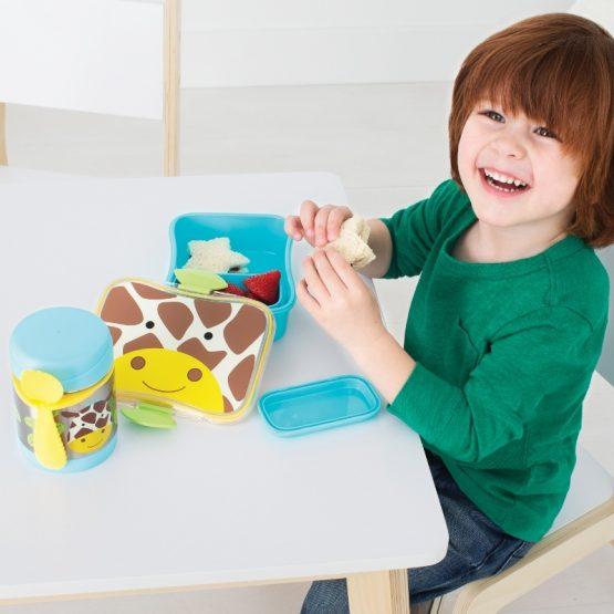 Детски Контейнер/Термос за храна Skip Hop от неръждаема стомана, жирафче
