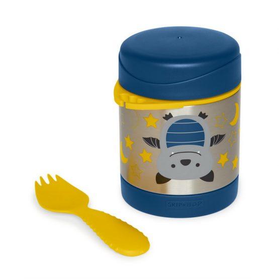 Детски контейнер/Термос за храна Skip Hop от неръждаема стомана, прилеп