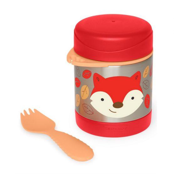 Контейнер/Термос за храна Skip Hop от неръждаема стомана, лисица