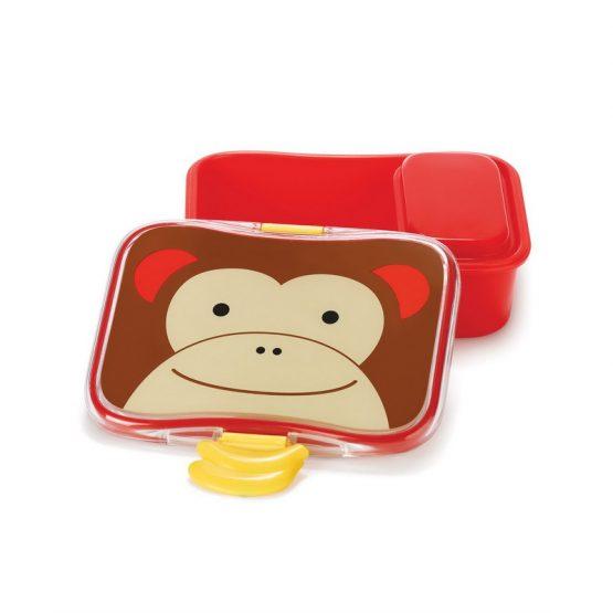 Кутия за храна Skip Hop Zoo, маймунка