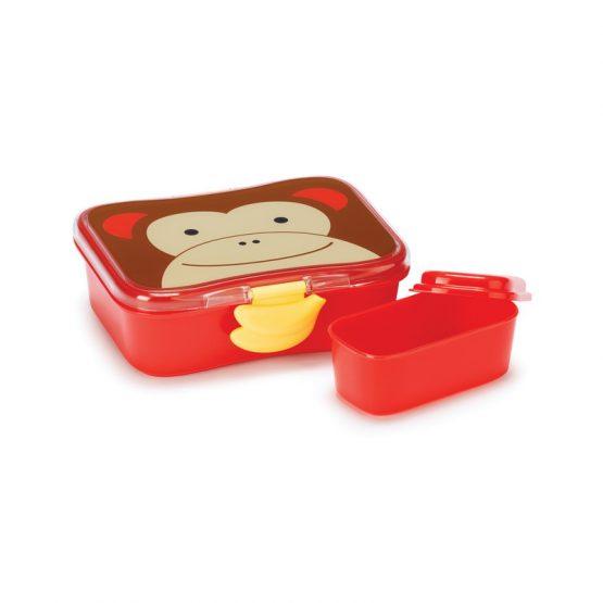 Кутия за храна Skip Hop Zoo маймунка
