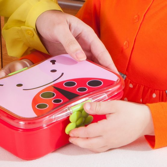 Кутия за храна Skip Hop Zoo калинка
