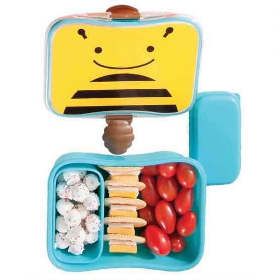 Кутия за храна Skip Hop Zoo пчеличка