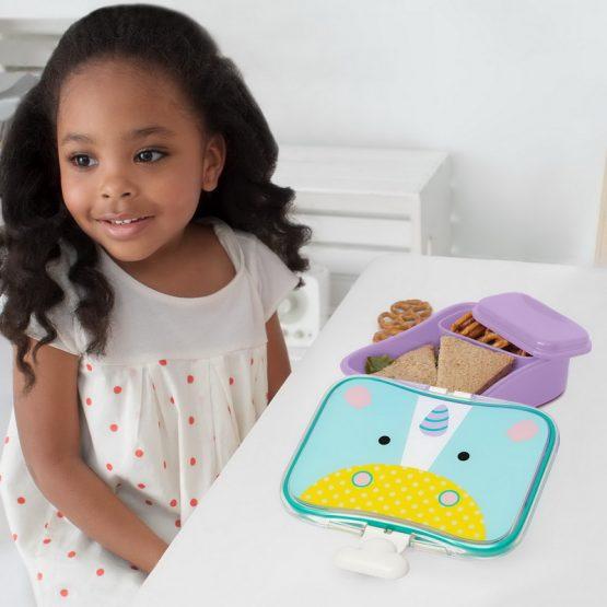 Кутия за храна Skip Hop Zoo еднорог