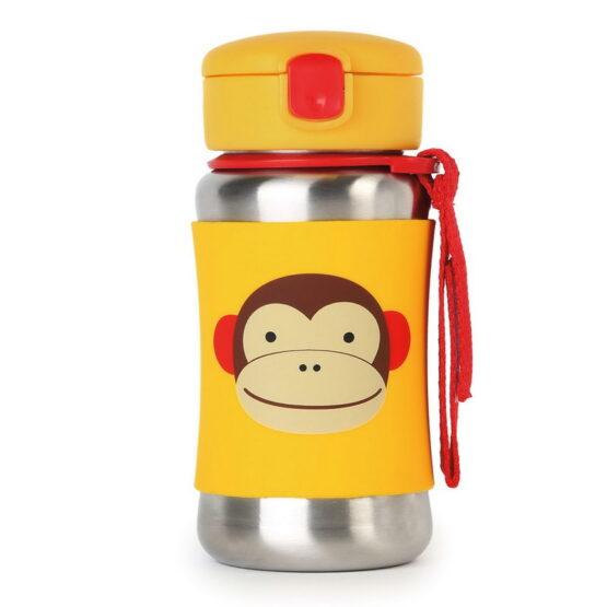 Бутилка Skip Hop от неръждаема стомана, маймуна