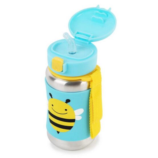 Бутилка Skip Hop от неръждаема стомана, пчеличка