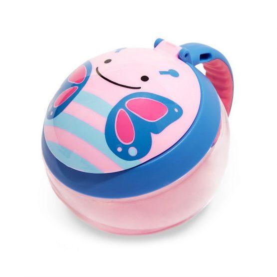 Детска чаша за закуска Skip Hop, пеперудка
