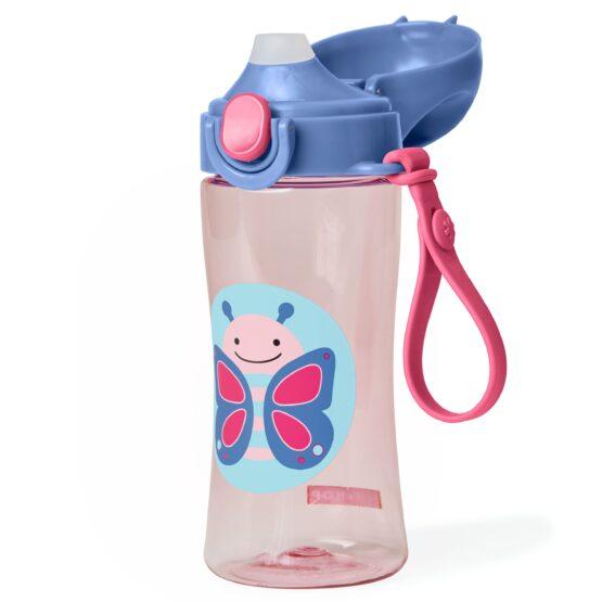 Спортна бутилка Skip Hop Zoo, пеперудка