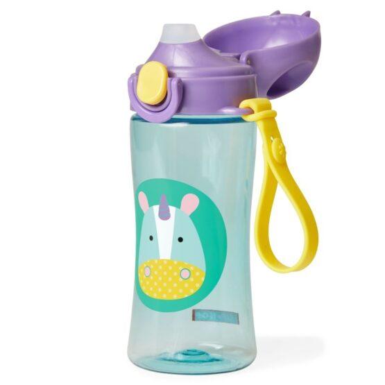 Спортна бутилка Skip Hop Zoo, еднорог