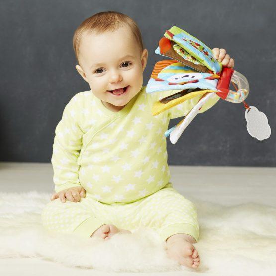 Бебешка мека книжка с дрънкалка Skip Hop