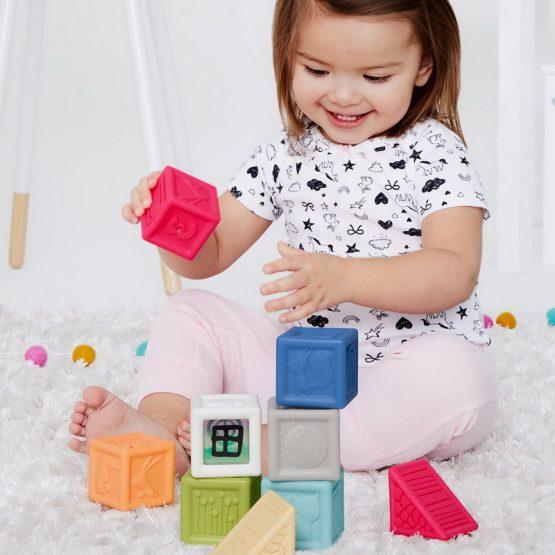Меки кубчета Skip Hop с цифри и фигури