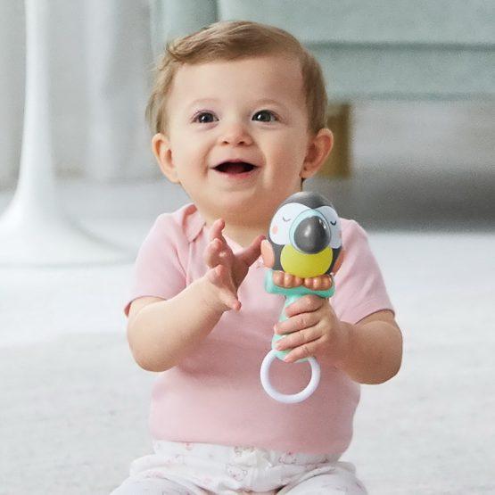 Дрънкалка за бебе Skip hop тукан