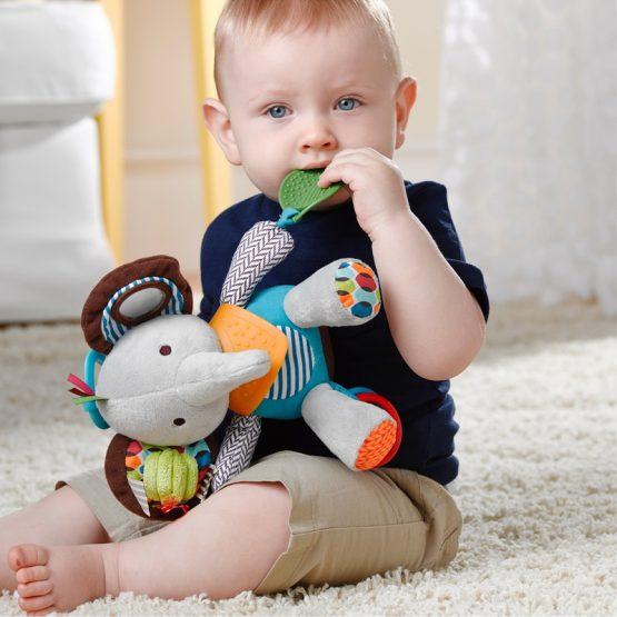 Бебешка мека играчка Skip Hop, слонче
